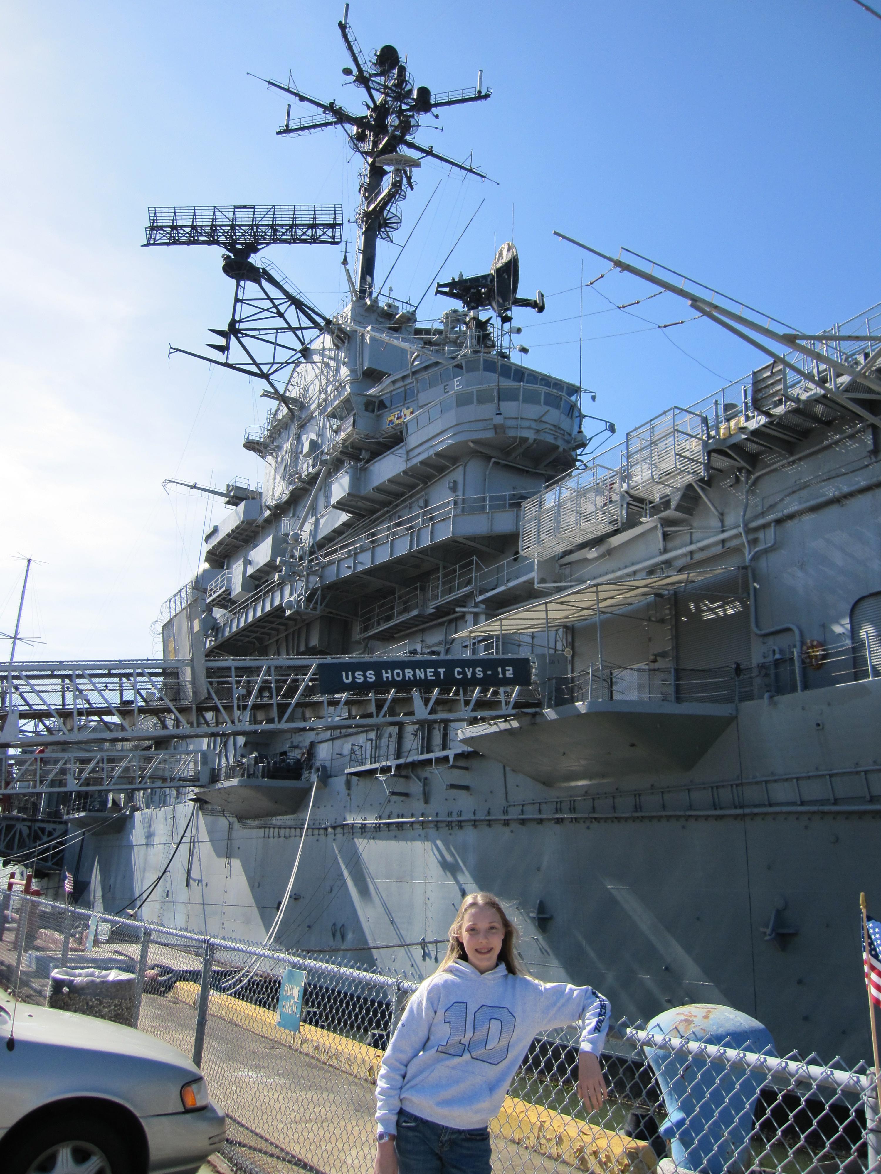USS Hornet aka the Grey Ghost | hikethis